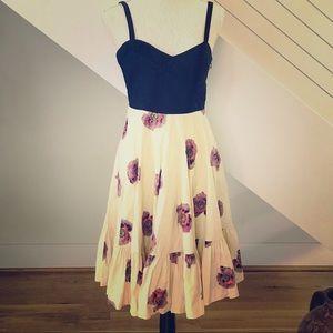 Girls From Savoy A-Line Sleeveless Dress. EUC